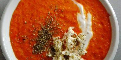Krem paprykowo-pomidorowy, czyli zupa pachnąca Italią