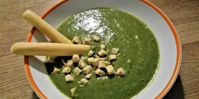 Zupa krem z bazylii